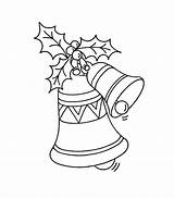 Coloring Pages Christmas Printable Bell Bells Bestcoloringpagesforkids Colouring Sheets Holiday Print Printables Xmas Books Pokemon sketch template