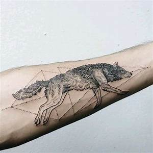 Running Wolf Tattoo | Venice Tattoo Art Designs