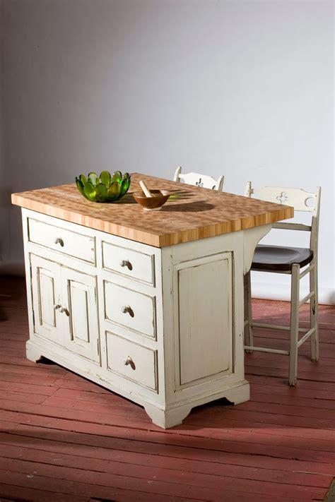 ilot cuisine table a manger meubles sur mesure en bois massif et bois ancien