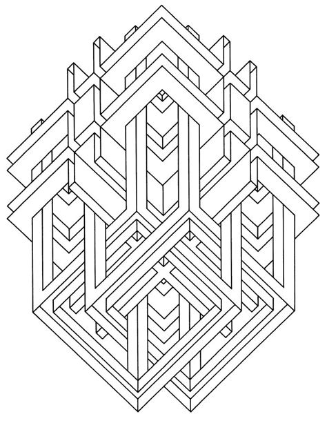 print   coloring page coloring op art jean larcher  click   printer icon