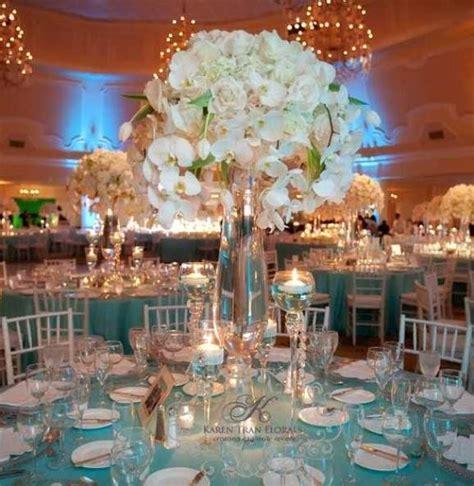 tiffany blue table decorations tiffany blue wedding centerpieces table arrangments
