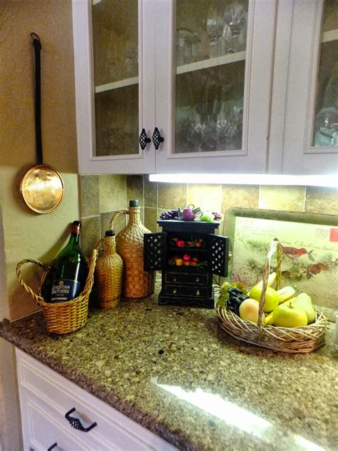 kitchen decorating ideas for countertops ash tree cottage accessorizing kitchen counters