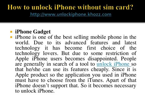how to use iphone without sim card how to unlock iphone without sim card