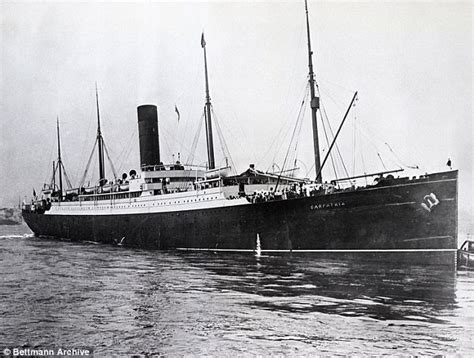 Titanic Sunk By U Boat by Moment Carpathia The Ship That Found Titanic Survivors