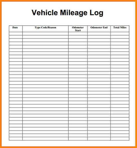 mileage tracker form mileage tracker mileage logging