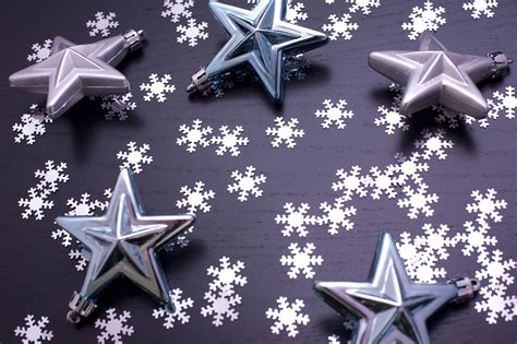 stock photo  christmas pattern  snowflakes