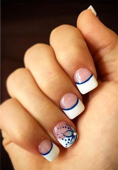 mind boggling french tip nail design ideas