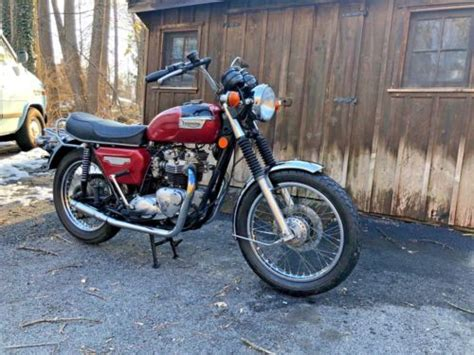 Triumph Bonneville T140 For Sale Used Motorcycles On