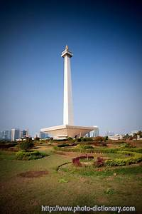 Monas, Monument, Picture, Definition, At, Photo