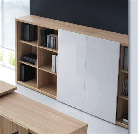 meuble bureau porte coulissante mito meuble de rangement design brand office