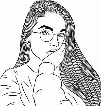 Glasses Round Pose Freetoedit Coloring Drawing Cool