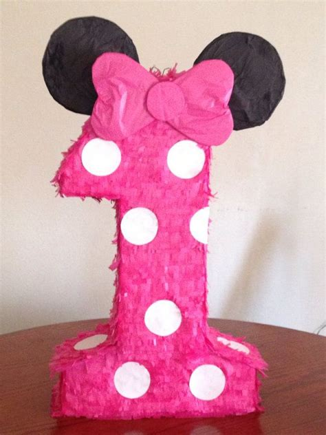 pinata number  minnie mouse inspiration