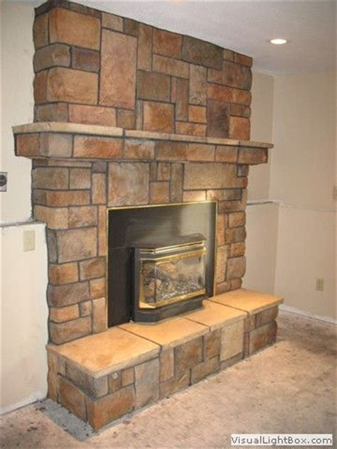 Slate Veneer Fireplace - 17 best images about mantel on thin