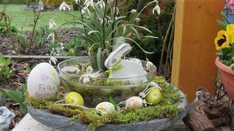 fruehling ostern dekoration selber machen decoration