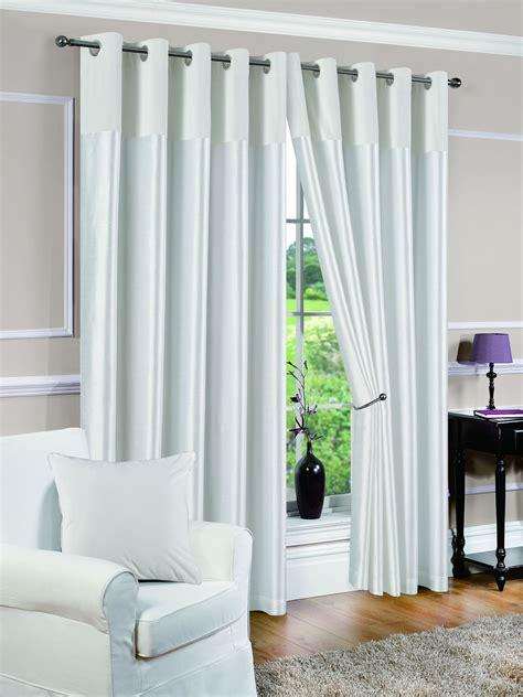 rideaux rideaux doubl 233 s paires de rideaux derwent su 232 de blanc ebay