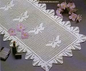 free-crochet-doily-pattern-with-butterfly Free Crochet