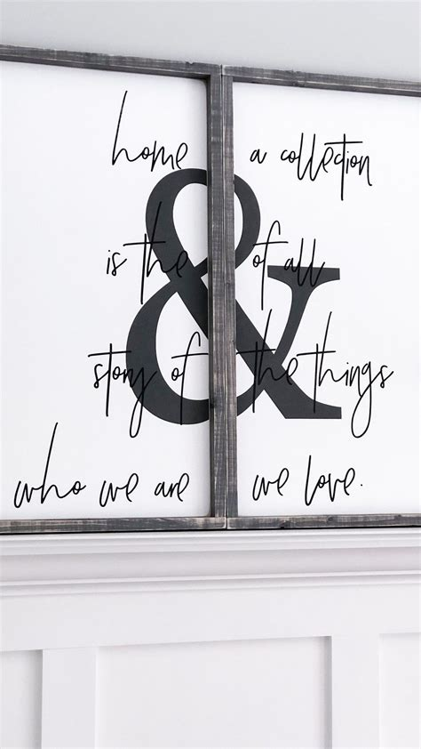 Written by our homes media group inc. Home Is The Story Of Who We Are | {SET} - Timber + Gray Design Co. | Shabby chic room, Shabby ...