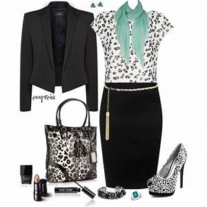 16 Polished And Professional Polyvore Work Outfits