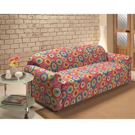 sanctuary stretch jersey tie dye sofa slipcover free