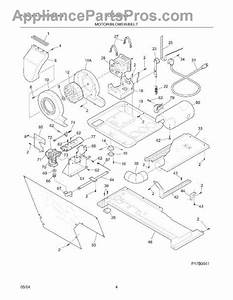 Parts For White Westinghouse Wlxg42rew5  Motor    Blower