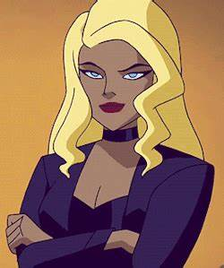 Black Canary Dinah Lance medits justice league unlimited ...