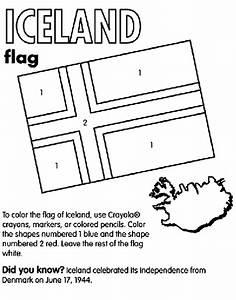 Iceland Coloring Page Crayolacom