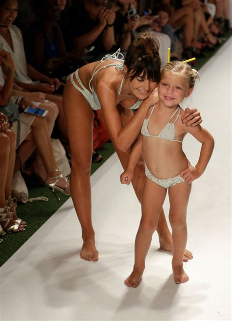 Sexualizing children: Fashion brand hires tiny child ...