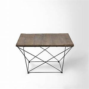 angled base coffee table west elm With angled coffee table