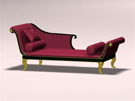 chaise dwg chaise lounge 3d model 3ds max autocad files