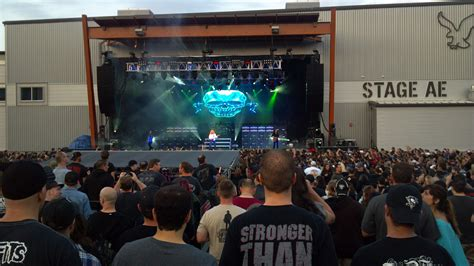 Megadeth And Rob Zombie, Stage Ae, Pittsburgh, Pa
