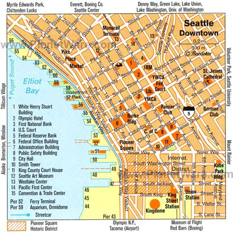 seattle visitors bureau 11 top tourist attractions in seattle planetware