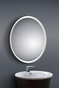 Miroir Rond Salle De Bain : miroir rond lumineux salle de bain oh babou ~ Nature-et-papiers.com Idées de Décoration