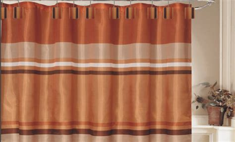 rust shower curtain 13 70 quot x72 quot shower curtain set