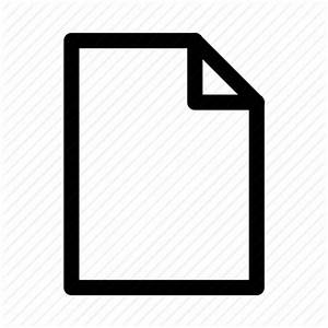 blank document empty file test icon icon search engine With documents folder empty