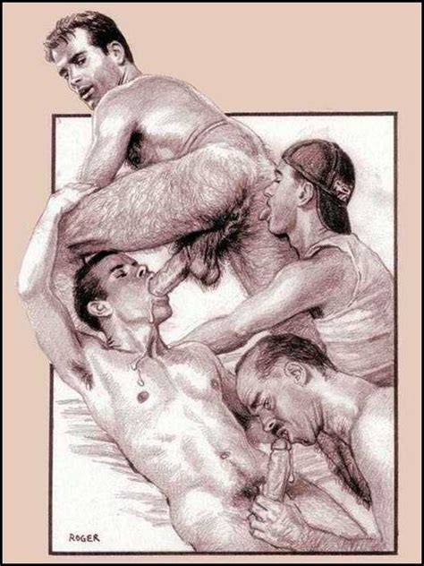 Gay Drawings Hot Gay Art