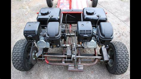 go kart motors trouble shakedown