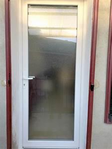 Porte Vitrée Pvc : porte pvc vitree opaque nimes ax fen tre menuiserie ~ Melissatoandfro.com Idées de Décoration