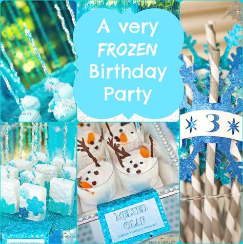 Frozen Party Ideas  A Frozen Birthday Party!  Creative Juice