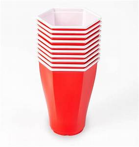 Hexcups Are Hexagon Shaped Beer Pong Cups That Have No ...