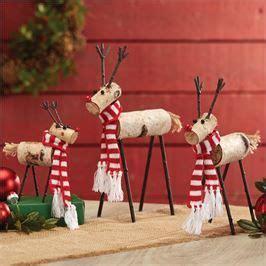 mud pie birch wood reindeer christmas decor holiday