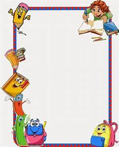 Resultado de imagen de bordes decorativos para niños bordes infantiles Pinterest Diplome