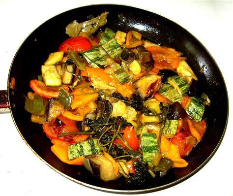 cuisine végé list of vegetable dishes