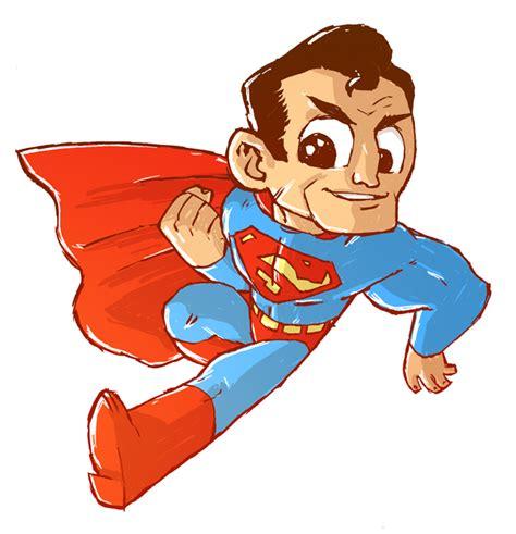 superman clipart drawn pencil   color superman