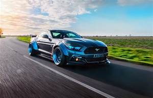 Wallpaper Mustang, Ford, GTR, speedhunters, Liberty Walk images for desktop, section ford - download