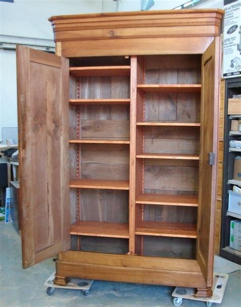 bureau ikea angle aménagement d 39 une armoire ancienneart 39 ébèn