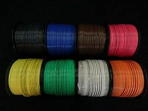 12 Gauge Thhn Wire Stranded Pick 3 Colors 100 Ft Each Thwn 600v Cable Awg
