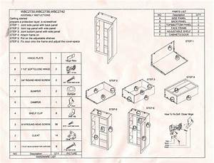 Cabinet Assembly Instructions