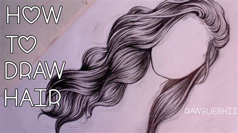 Girl Hair Drawing Draw How To Draw Color Christmas Donuts Step By Step