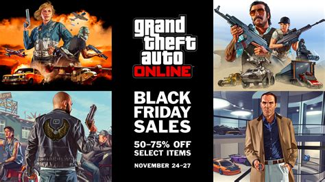 Black Friday Weekend Discounts In Gta Online (nov 24