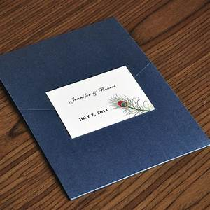 unique peacock white and blue pocket wedding invites with With inexpensive peacock wedding invitations